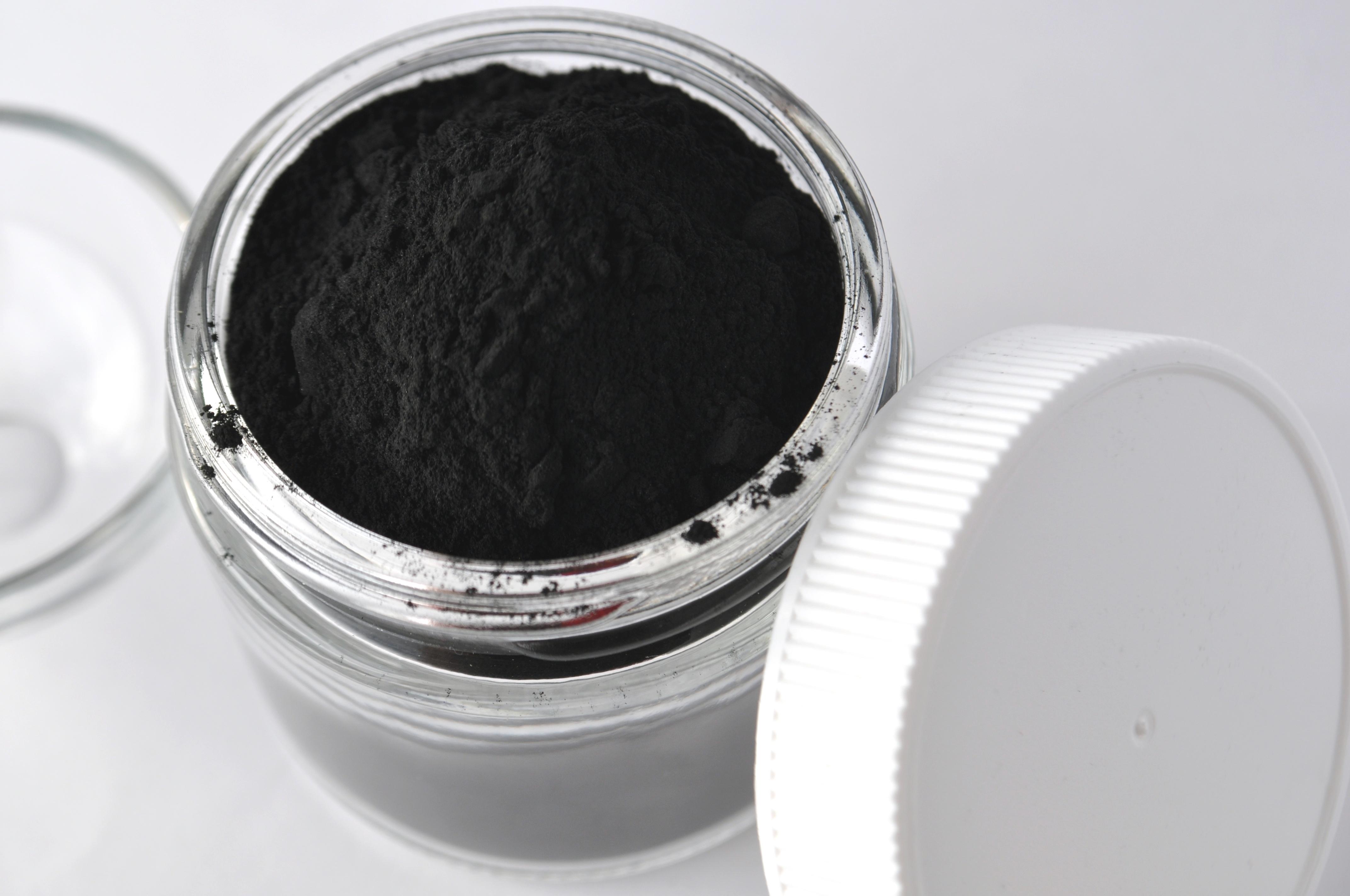 Blanqueamiento con carbón activado