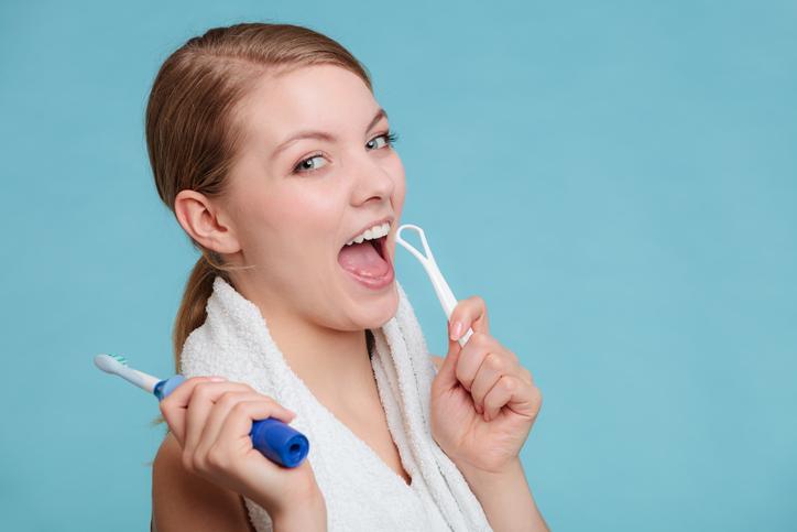 limpieza lingual